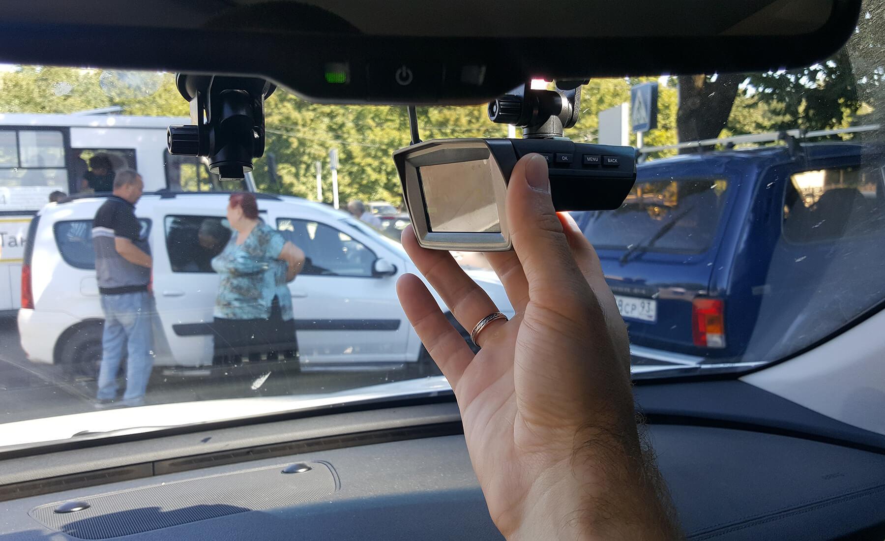 настройки видеорегистратора автомобильного